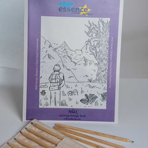Star Essence Relax Coloring Book