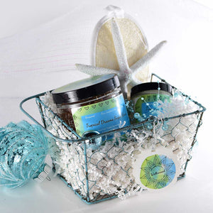 Tropical Dreams Aromatherapy Holiday Gift Basket