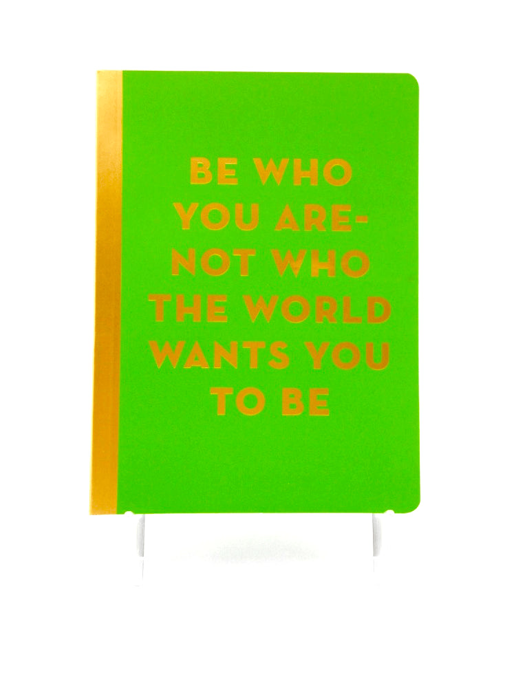 """Be Who You Are"" 5x7 Journal"