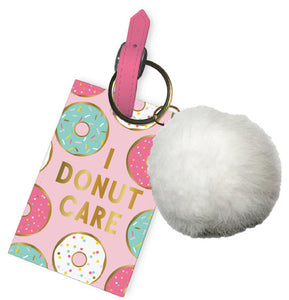 Luggage Tag Pom Pom I Donut Care