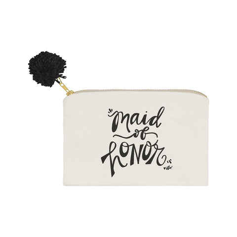 """Maid of Honor"" Travel Bag & Make Up Bag"