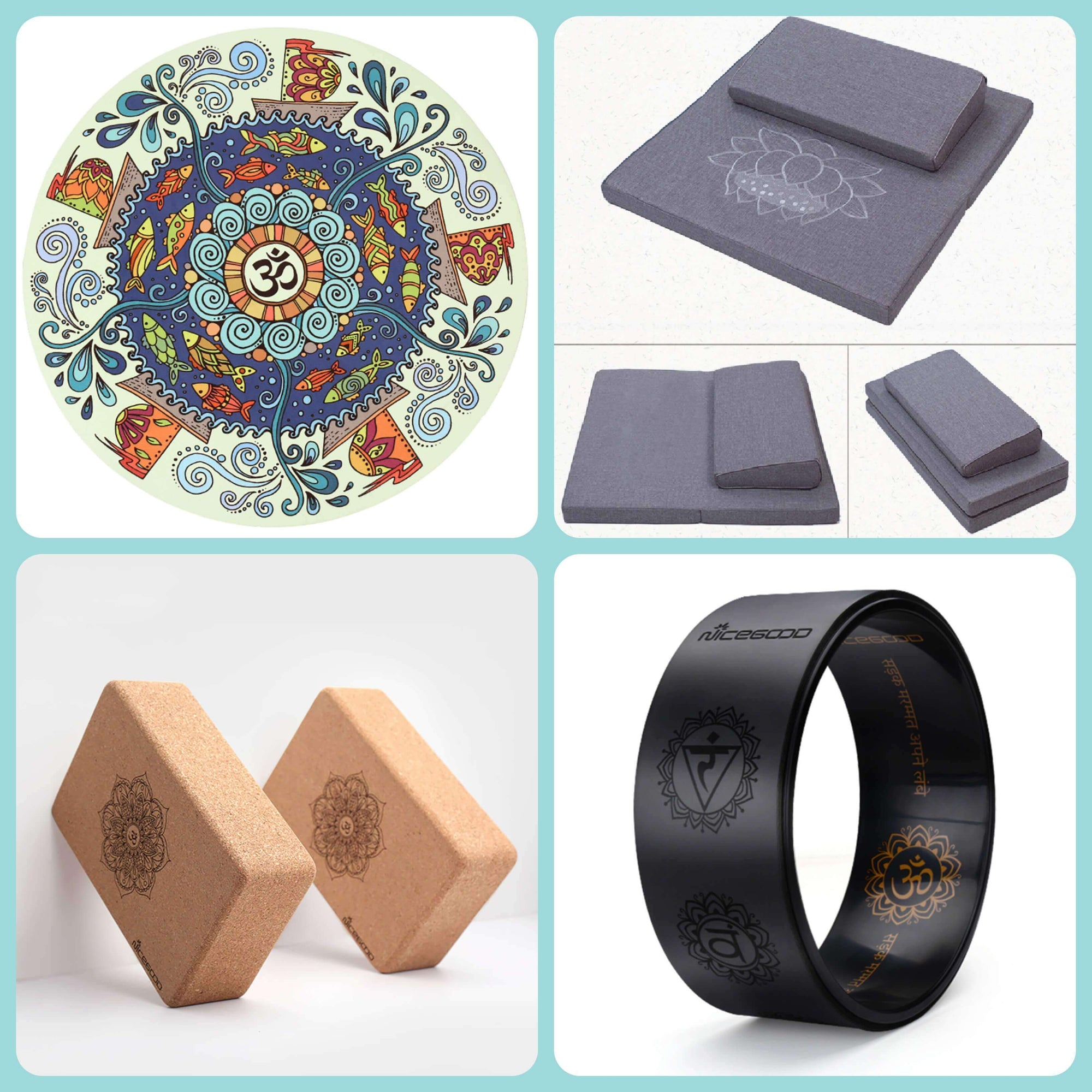 Yoga and meditation accessories