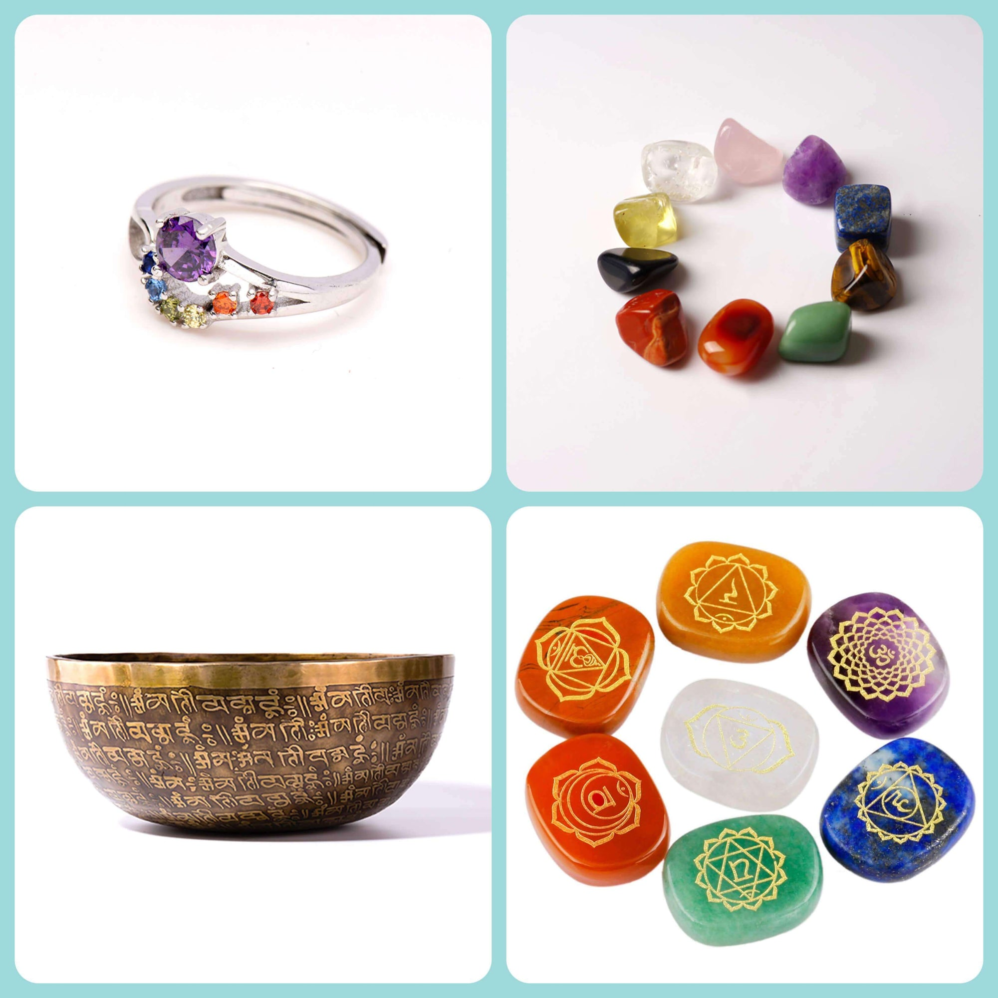 Chakra Reiki jewelry and items