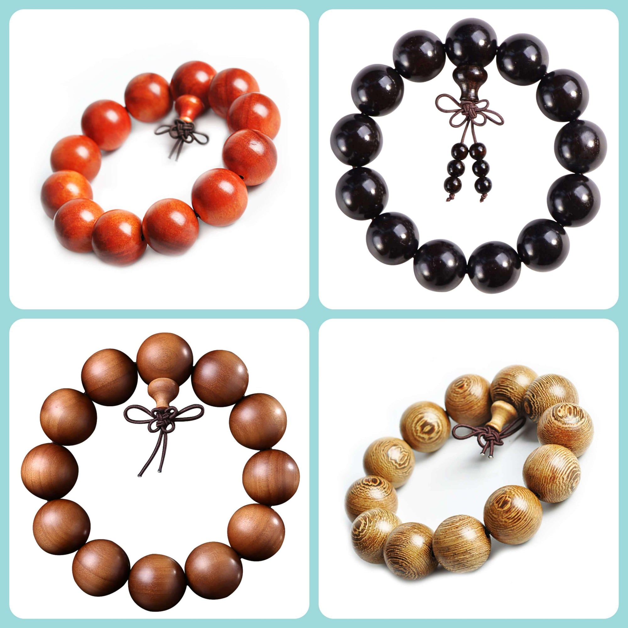 Malas Bracelets in Wood