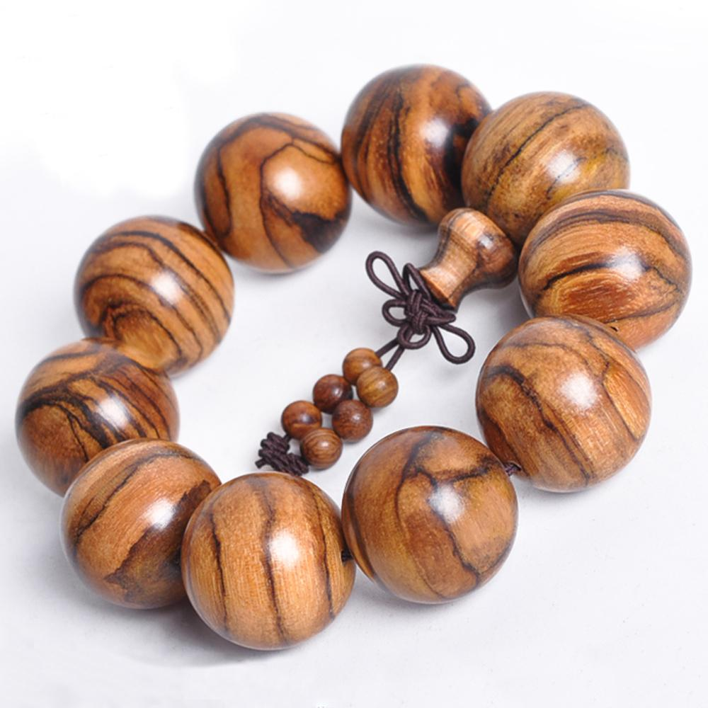 Mala bracelet in oud wood Malas bracelets Asian Artisan
