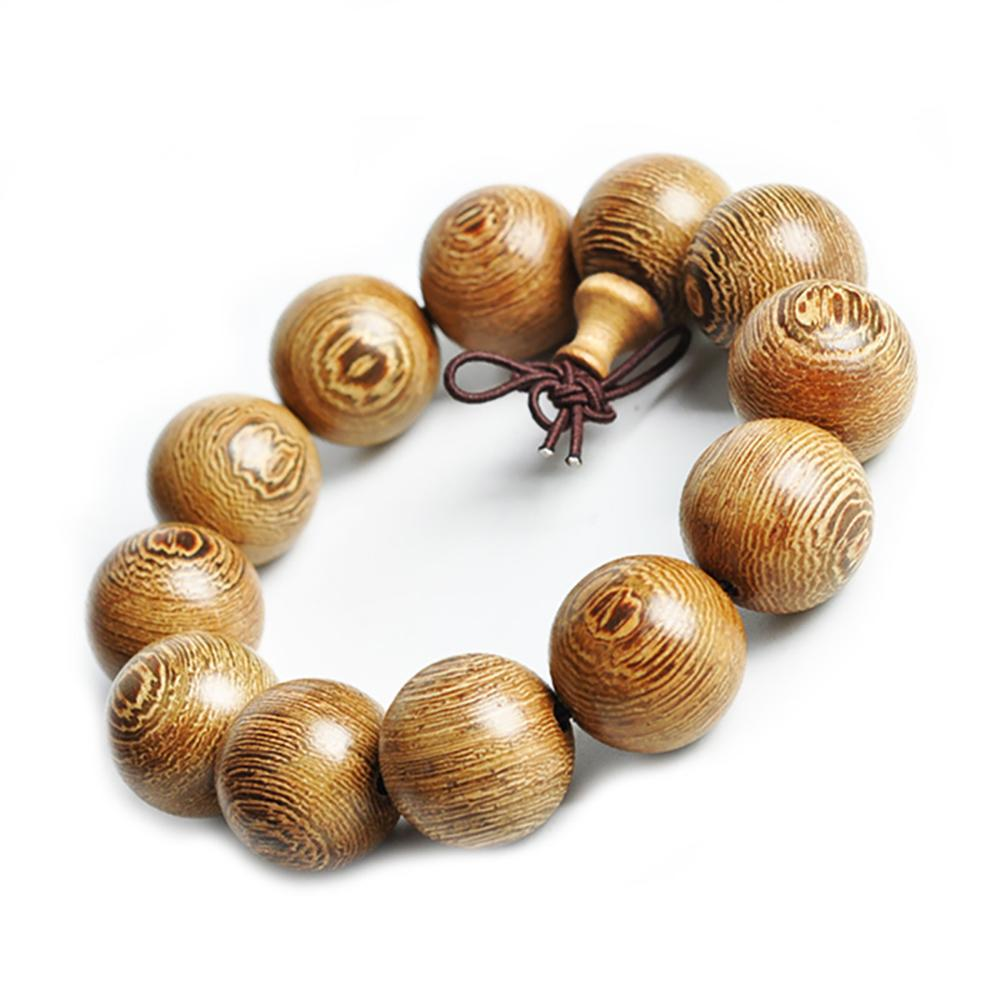 Mala bracelet in wenge wood Malas bracelets Asian Artisan