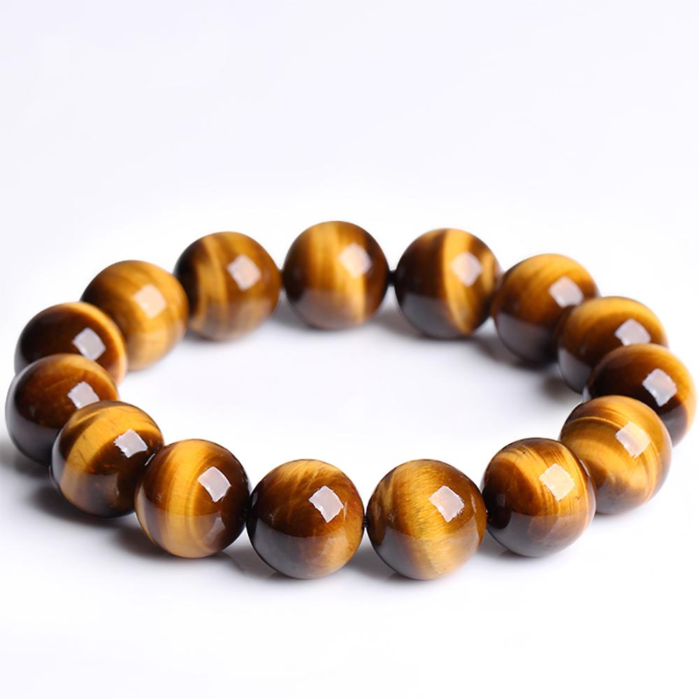 Yellow tiger eye stone mala bracelet Asian Artisan Malas Bracelets