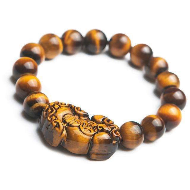 Handcrafted Buddhist Tiger Eye Mala Asian Artisan Malas Bracelets