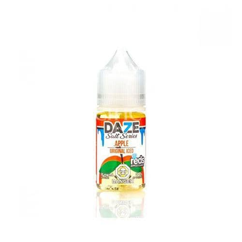 7 Daze Reds Salt Series Apple Iced  Vapeluv Vapeshop