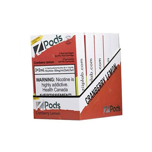Z Pods Cranberry Lemon Stlth Compatible Pods