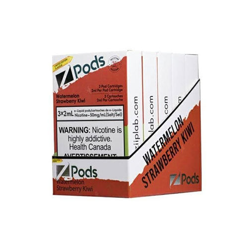 Z Pods Watermelon Strawberry Kiwi Stlth Compatible Pods