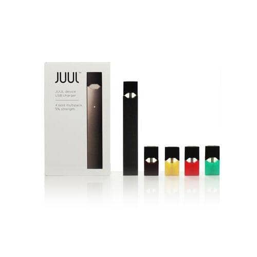 JUUL Starter Kit with 4 Pods and Charger - Vapeluv Vapeshop