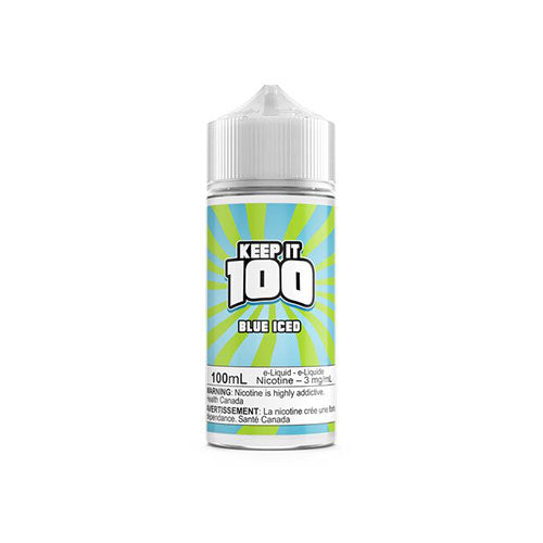 Keep it 100 Blue Iced | Vapeluv Canada