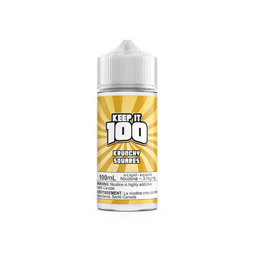 Keep it 100 Krunchy Squares  Vapeluv Vapeshop