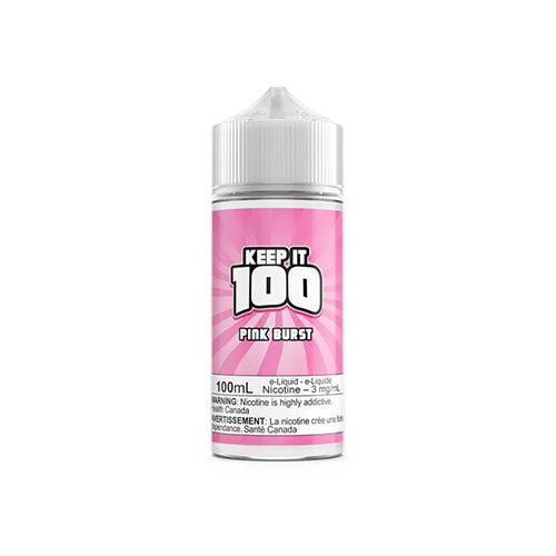 Keep it 100 Pink Burst  Vapeluv Vapeshop
