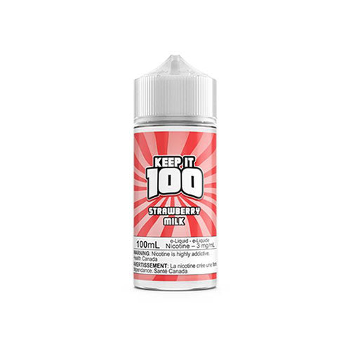 Keep it 100 Strawberry Milk  Vapeluv Vapeshop