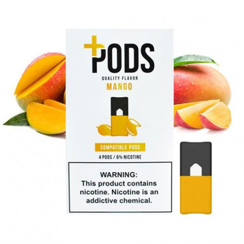 Plus Pods Mango Juul Compatible Pods Vapeluv Vape Shop Toronto, Etobicoke, North York
