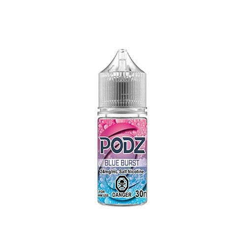 Podz Salt Blue Burst  Vapeluv Vapeshop