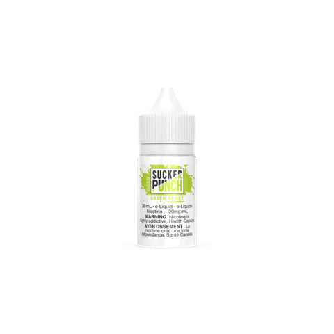 Sucker Punch Green Burst Salt Nic Vapeluv Vape Shop Toronto, Etobicoke, North York