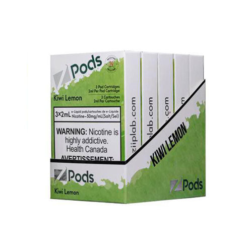 Z Pods Kiwi Lemon Stlth Compatible Pods