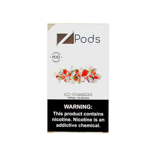 Ziip Iced Strawberry Pods Vapeluv Vapeshop
