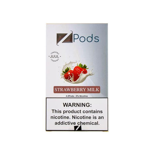 Ziip Strawberry Milk Pods Vapeluv Vapeshop