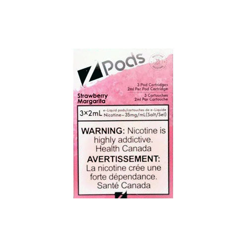 Z Pods Strawberry Margarita Stlth Compatible Pods