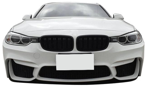 Bmw F30 M3 Style Front Bumper F80 Style Front Bumper Cover For Non