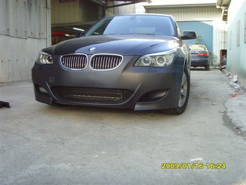 E60 M5 Replica Front Bumper w/ Fog Lights