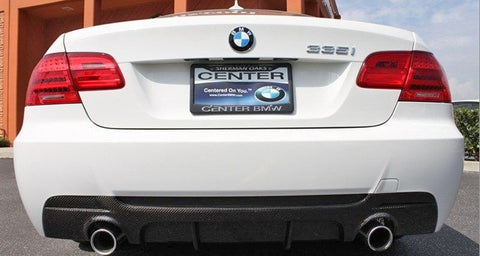 BMW E92/E93 Carbon Fiber Performance Style M Tech Rear Diffuser