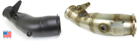 "F30 Evolution Racewerks N55 Catless Downpipe 4"" for 335i & 335xi"