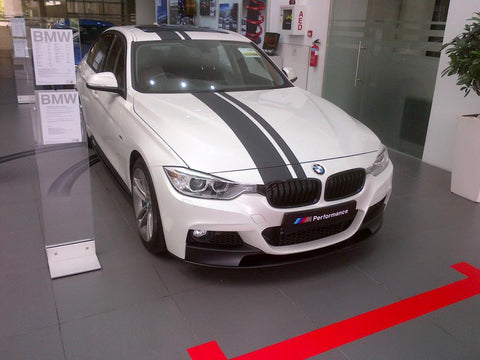Bmw Performance Style F30 M Tech Front Lip Spoiler Jgmods