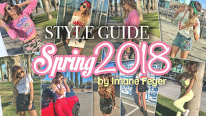 Style Guide Spring 2018 by Imane Feger