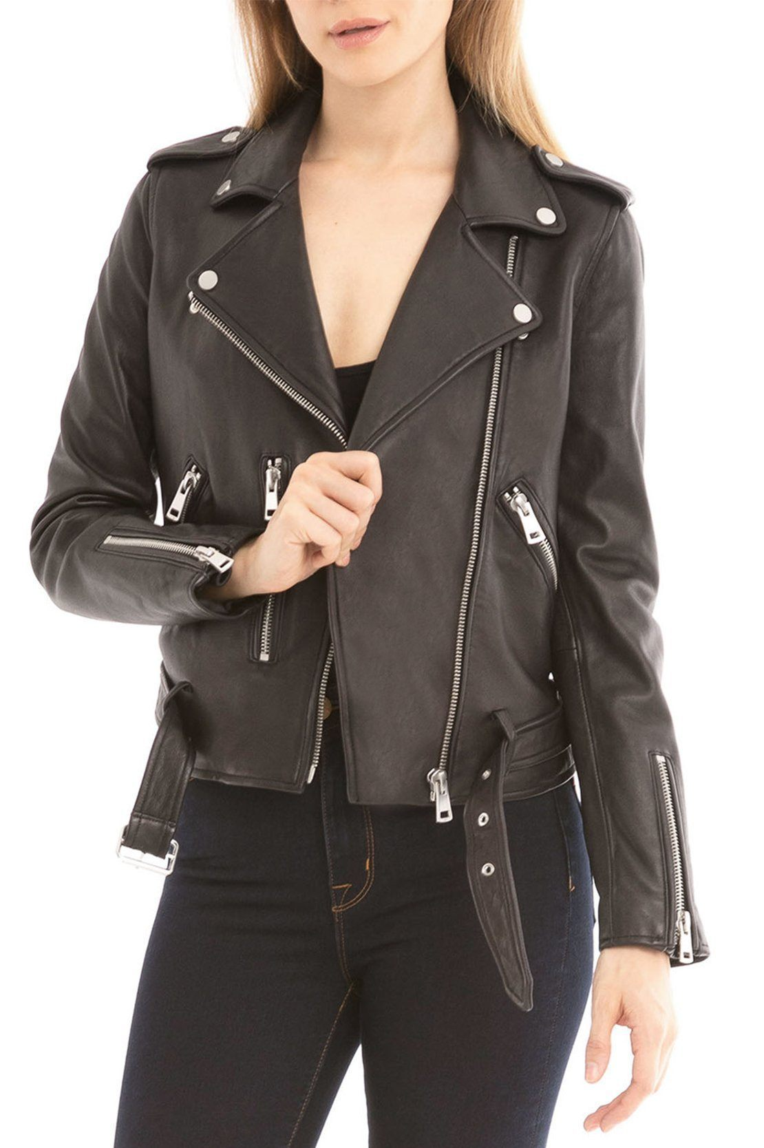Washed Biker - BAGATELLE.CITY Shop Leather | Suede | Jackets