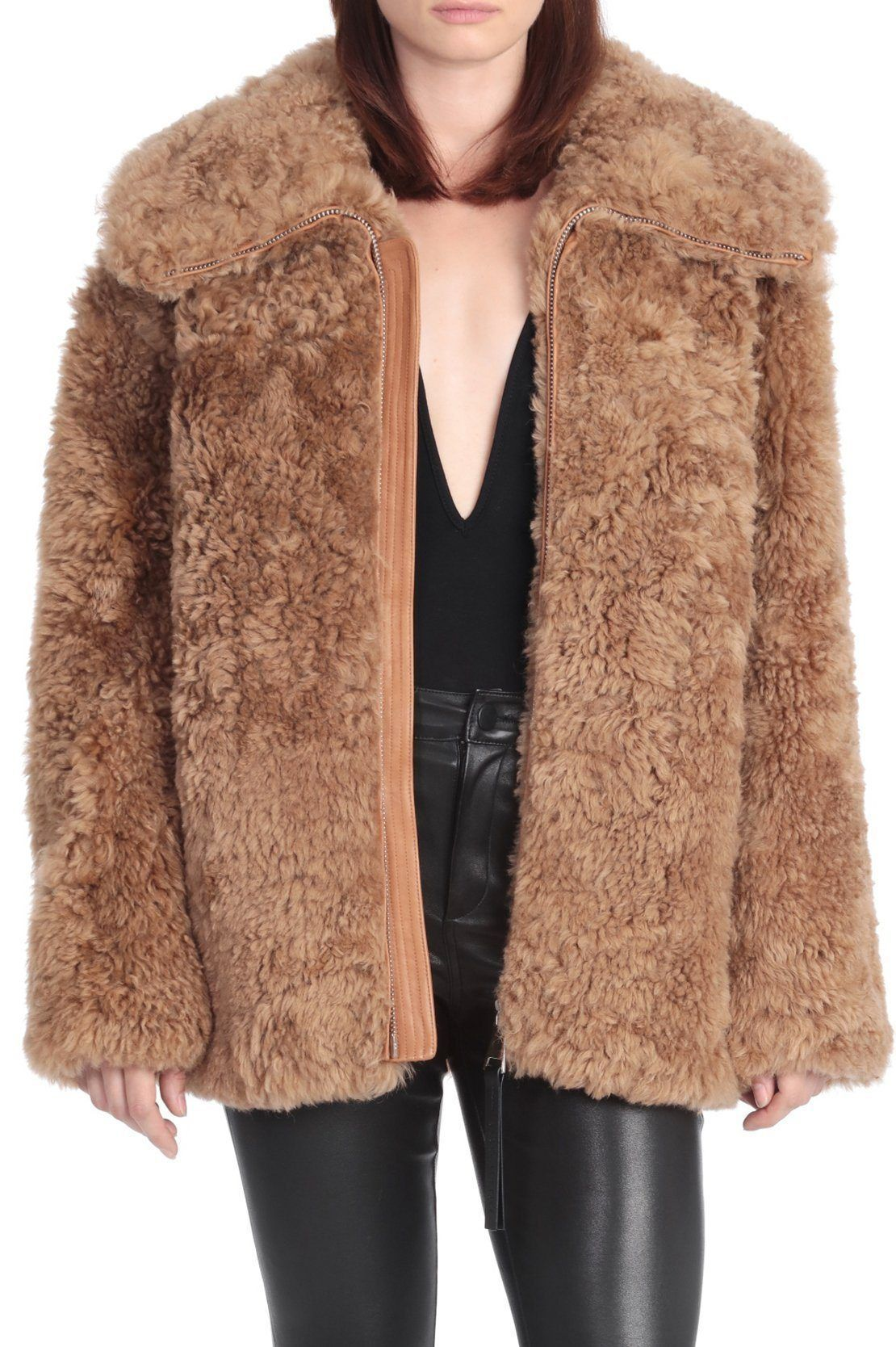 The Teddy Coat for $995.00 at BAGATELLE.CITY Shop Leather | Suede | Jackets