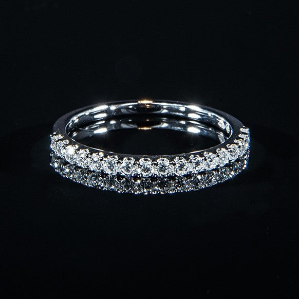 White Line - 18K White Gold Line Ring