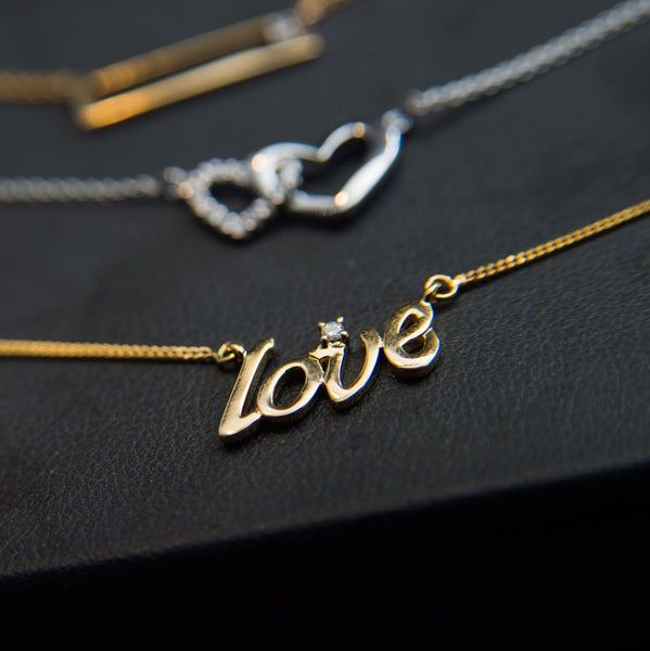 Love is all you need - 18K Yellow Gold Necklace