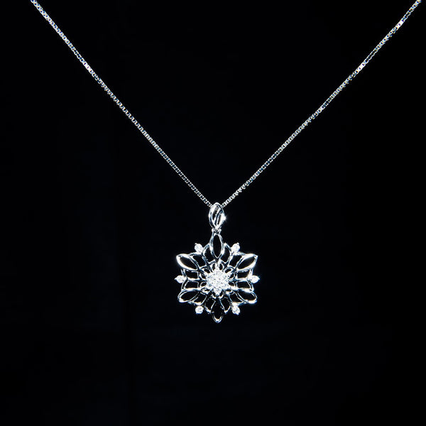 Snowflake Pendant (Necklace not included)