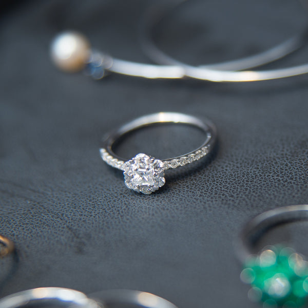 Enchanting Diamond Ring - 14K Diamond Ring
