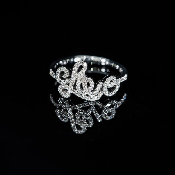 Love word Ring (set available)