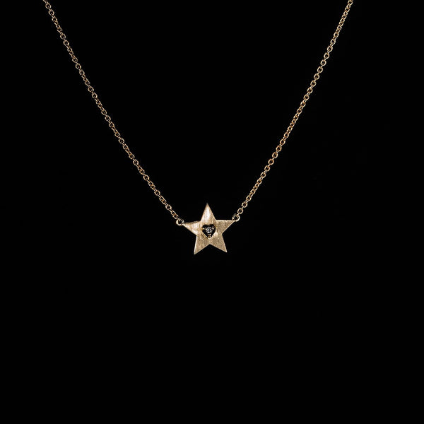 You're a Star! 14k Yellow Gold Necklace