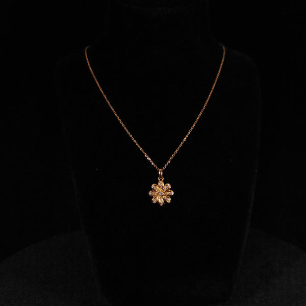 Eight Petal Diamond Flower