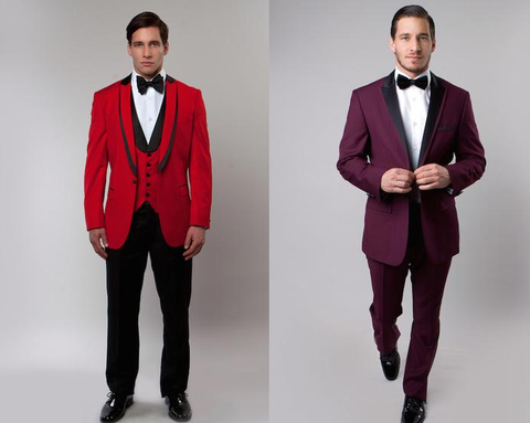 mens red tuxedos