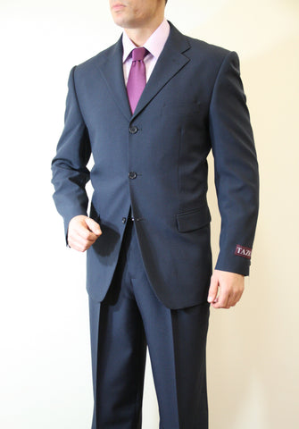Navy Formal 3 Button Modern Fit Suit