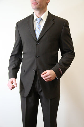 Brown Formal 3 Button Modern Fit Suit