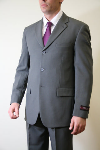 Dark Grey Formal 3 Button Modern Fit Suit