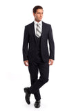 Navy 3 Piece Slim Fit Suit