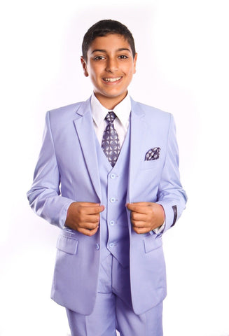 Boys Sky blue 5-PC Suit Set
