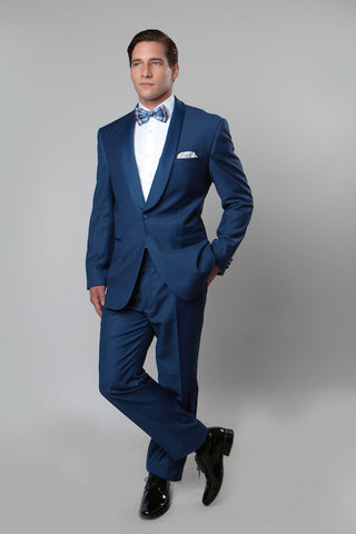 Blue Slim Fit Formal tuxedo