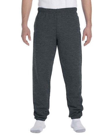 Men's Charcoal Fleece Stretch Sweatpants